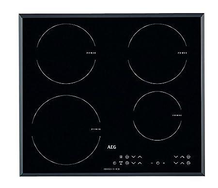AEG - Vitrocerámica de inducción HK 634206 FB acabado negro ...