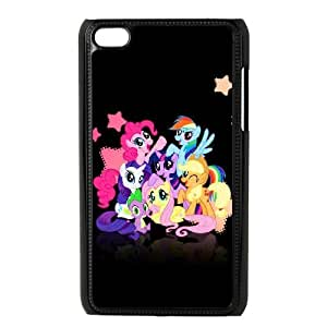 LSQDIY(R) My Little Pony iPod Touch 4 Case Cover, Customized iPod Touch 4 Cover Case My Little Pony