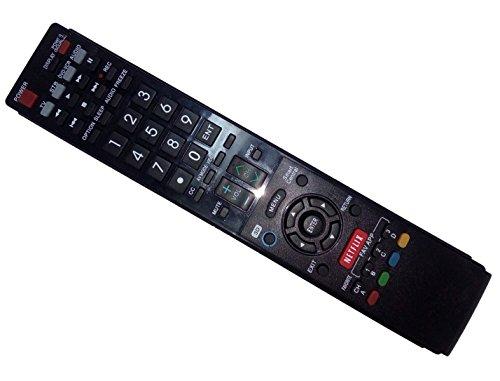 Replaced Remote Control Compatible for Sharp LC-70LE655U ...