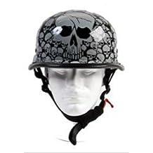 German Skull Graveyard Novelty Helmet Size Small