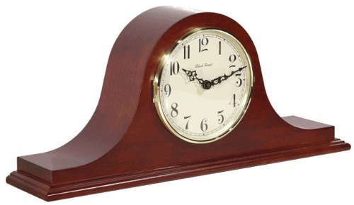 Hermle Sweet Briar Mantel Clock in Cherry with Quartz Movement Sku# 21135N92114 -  21135-N9Q