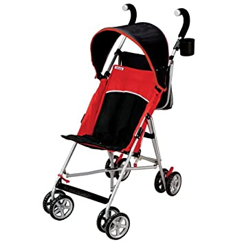 Amazon.com : Tour Sport Reclining Umbrella Stroller - Red/Black : Baby
