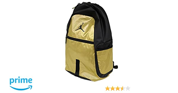 Amazon.com: Nike Air Jordan Jumpman reflector All World Bookbag Sports Laptop Student Backpack Metallic Gold: Sports & Outdoors