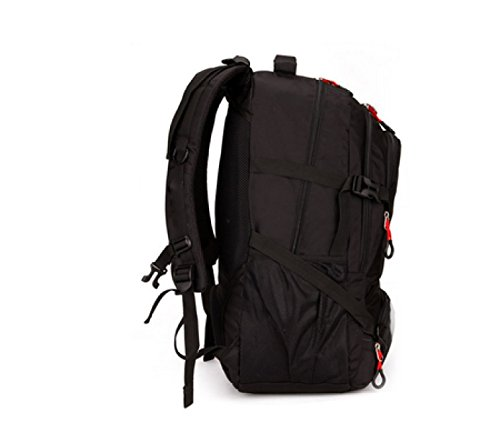 Business Backpack purpose Large Multi Bag Leisure Capacity Shoulder Red Outdoor Laidaye Travel gqYSaUx