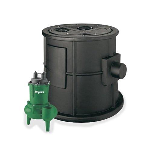 Hydromatic MW-BP BasinPro 1/2 HP Packaged Sewage System, 135 GPM