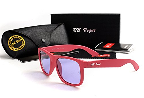RB Vogue 4165 Red Frame Blue Lens Brand Women Fashion - Sunglasses Vogue Brand