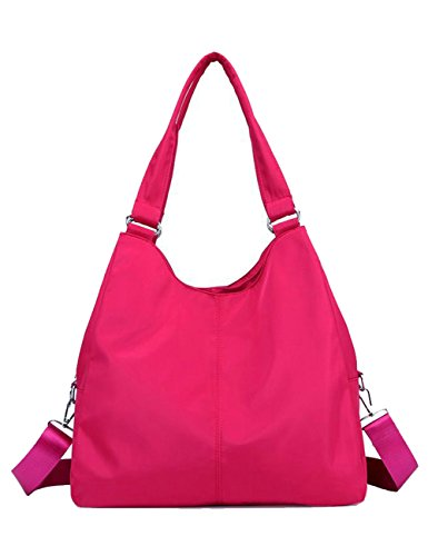 Nylon Hobo Handbags - 8