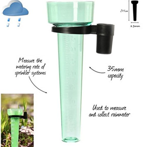 Polystyrene Rain Gauge Rain Container Up to 35mm Measurement by AdvancedShop