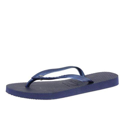 Havaianas Flip Flops Women Slim Crystal Glamour Sw Navy blue