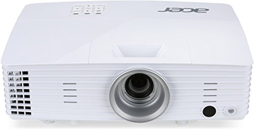 Acer P1525 Full HD DLP-Projektor (4.000 ANSI Lumen, Kontrast 20.000:1, Native 1.920 x 1.080 Pixel, Acer Hidden Port Design (HDMI/MHL), HDMI Anschluss mit HDCP Unterstützung) weiß