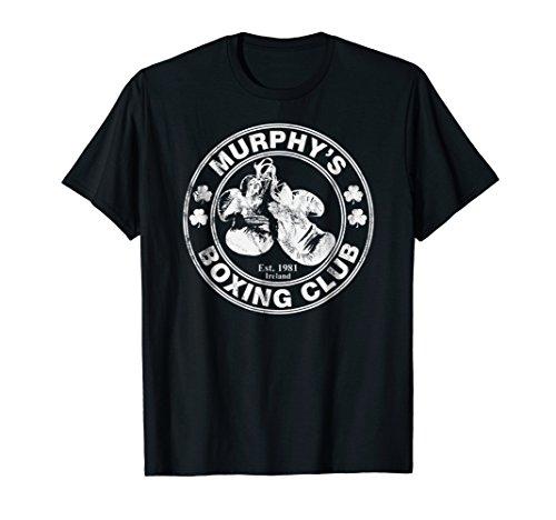 Murphy's Boxing Club - Irish Surname Boxing - Boxing Womens Dark T-shirt