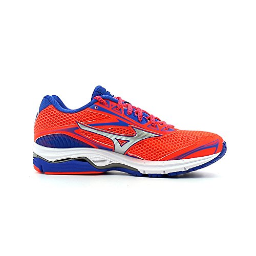 Mizuno - Wave Legend 4, color fiery coral, talla UK-6.5