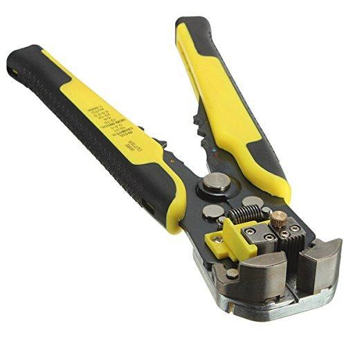 Buwico® Professionelle, automatische Abisolierzange / Crimper-Zange, 4,0-6,0mm / 0,5-2,5mm, Handwerkzeug