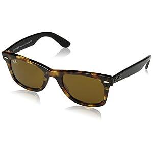Ray-Ban Original Wayfarer Sunglasses (RB2140 50) Brown/Brown Acetate - Non-Polarized - 50mm