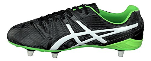 Match ST Rugby Boots - Black/Flash Green Black