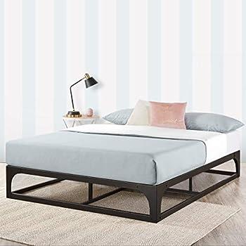 Amazon Com Mellow Full 12 Quot Metal Platform Bed Frame W