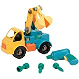 Battat Take-A-Part Toy Vehicles Crane, Green