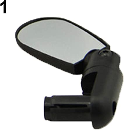 Mini Rotate Flexible Bike Bicycle Rearview Handlebar Mirror Cycling Universal