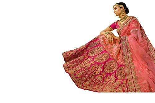 REKHA Diwali Special Wedding Bridal Wear Lehenga Choli Duhlan Designer Lehenga Choli 12
