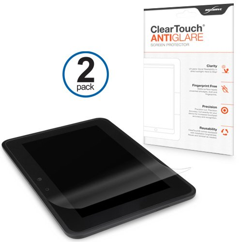 Kindle Fire HD 7 (2012) Screen Protector, BoxWave [ClearTouch Anti-Glare (2-Pack)] Anti-Fingerprint Matte Film Skin for Amazon Kindle Fire HD 7 (2012)