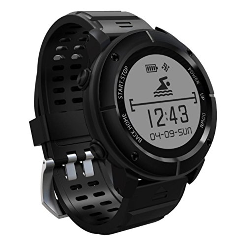 RTYou Fitness Tracker,Waterproof GPS Outdoor Smart Watch Fitness Activity Heart Rate Blood Pressure Tracker Watch For IOS & Andorid by RTYou