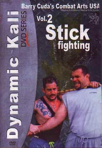 Barry Cuda Dynamic Kali #2 Stick Fighting DVD escrima arnis martial arts