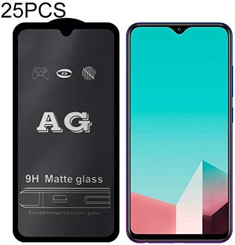 GzPuluz Glass Protector Film 25 PCS AG Matte Frosted Full Cover Tempered Glass for Vivo V11i
