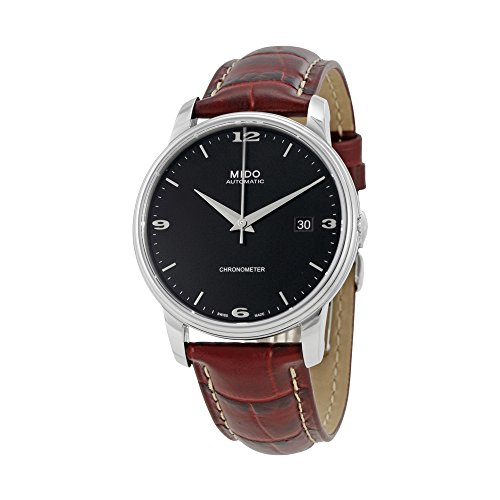 Mido Baroncelli III Black Dial Automatic Mens Watch M0104081605110