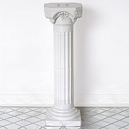 Amazon Balsacircle 4 Pcs 36 Tall White Roman Empire Columns