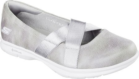 Skechers Performance Women's Go Step - Dainty B01HMZIJPS 7.5 B(M) US|Charcoal