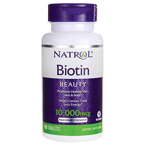 Natrol Biotin Max 10000 Mcg, 100 Tablets