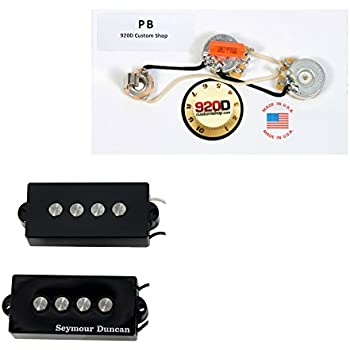 seymour duncan spb 3 fender p bass guitar pickup black wiring harness musical. Black Bedroom Furniture Sets. Home Design Ideas