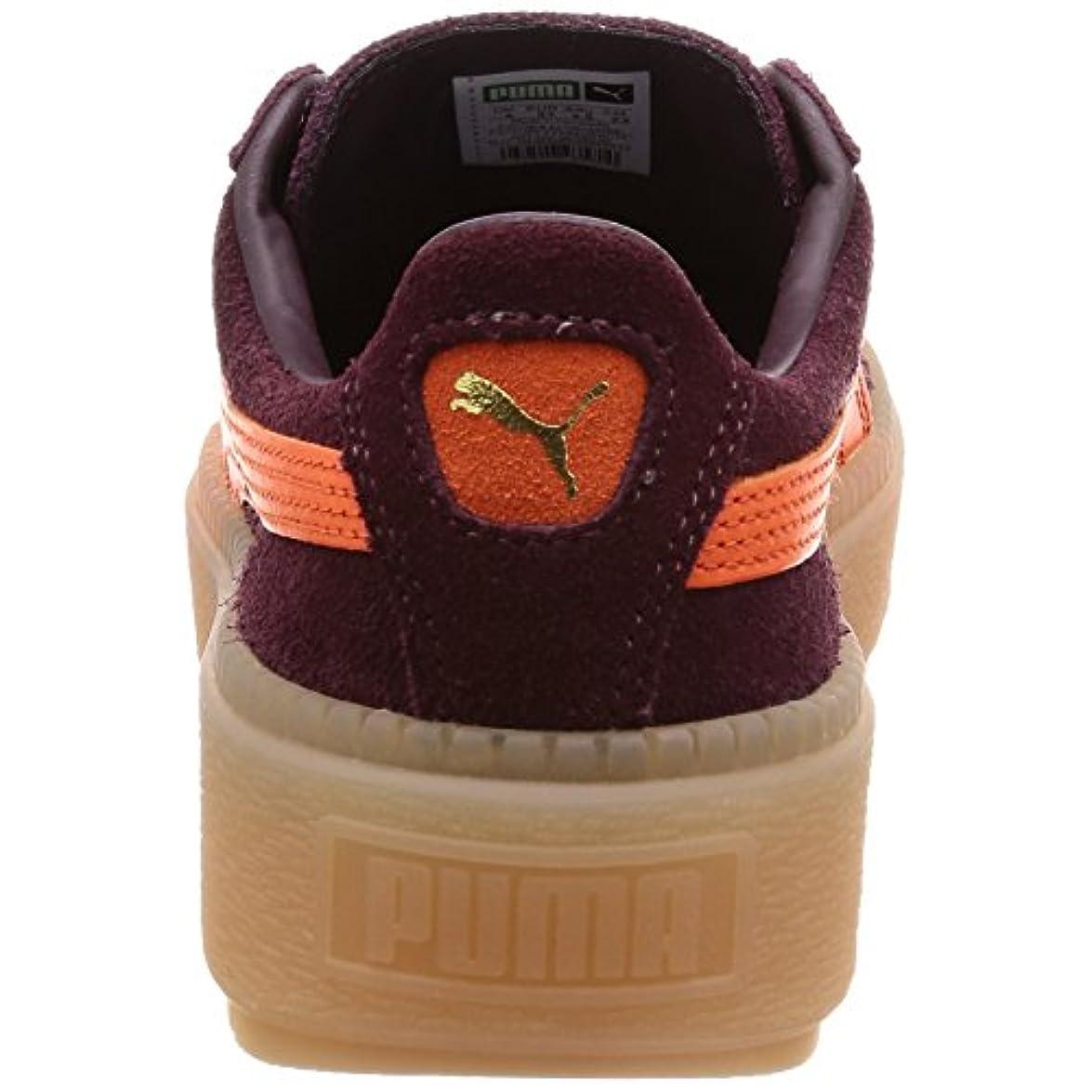 Puma Sneakers Trace Bordeaux E Arancio
