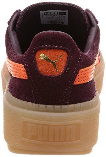 Arancio Trace Puma Bordeaux E Sneakers wSInvq4