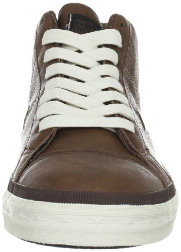 e676a2ddc3d7cf Converse One Star Mid Leather Pinecone Black Trainers Mens Brown Braun ( Pinecone Black) Size  40 EU 6 UK  Amazon.co.uk  Shoes   Bags