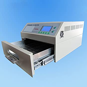 SMTHouse T962A Reflow Oven Infrared IC Heater Soldering Machine 1500W 300 x 320 mm SMD SMT BGA Soldering Automatic