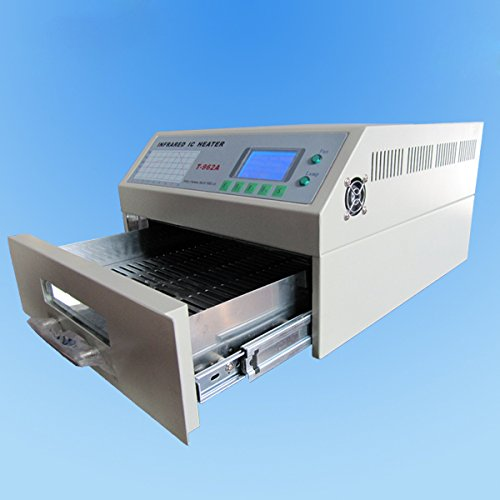 Picture of SMTHouse T962A Reflow Oven Infrared IC Heater Soldering Machine 1500W 300 x 320 mm SMD SMT BGA Soldering Automatic