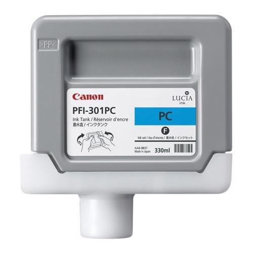 PFI-301PC Pigment Photo Cyan Ink Tank 330ML for IPF9000 ()