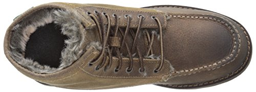 Eastland Mens Timber Up Lace Up Boot Natural / Fake Fur