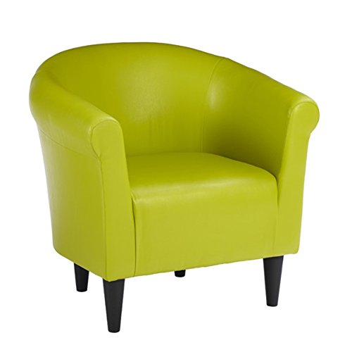 Zipcode™ Design Savannah Barrel Chair, Contemporary Style, Green
