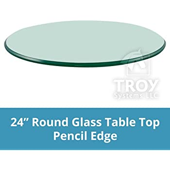 Amazon Com Troysys Glass Table Top 36 Quot Length 1 4