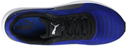 Puma Herren Meteor Laufschuhe, 47 EU Blau (True Blue-Puma Black 10)