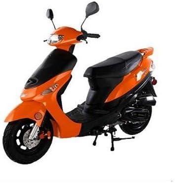 Amazon.com: 50cc Gas Street Legal Scooter TaoTao ATM50-A1 - Orange:  AutomotiveAmazon.com