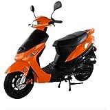 50cc Gas Street Legal Scooter TaoTao ATM50-A1 - Orange