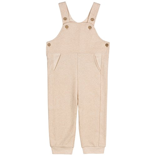 Niteo Baby Organic Cotton Overall, Brown, 12-18M by Niteo