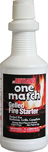 One Match  Gel Fire Starter, 32 fl. oz. (Package may vary) (Best Smokeless Coal For Multifuel Stove)