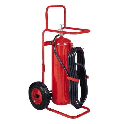 Kidde 466504 Wheeled Extinguisher, 50-Pound ABC Dry Chemical, Stored Pressure Fire Extinguisher, UL Rated 30-A:160-B:C, Red (Extinguisher Fire Wheeled)