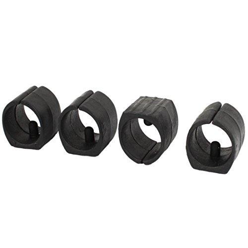 (DealMux Breuer Chair Tube Foot Glides Single Prong Plastic Caps 25mm Dia 4Pcs)