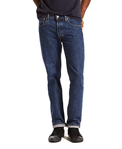 Levi's 00501 Men's 501 Original Fit Jean, Dark Stonewash - 36x28