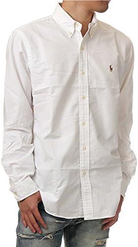 (ポロ ラルフローレン) POLO RALPH LAUREN/Oxford Button-down shirt XS-2XL ボタンダウン クラシック 長袖シャツ オックスフォードシャツ ユニセックス [並行輸入品]